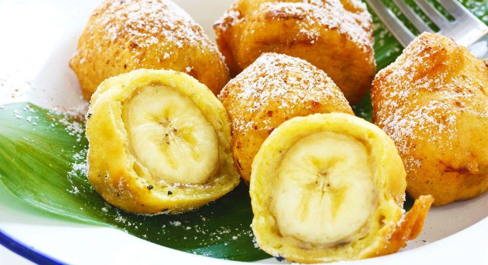 Бананы в тесте рецепт с фото