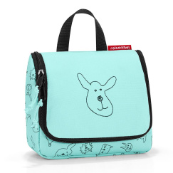 Органайзер детский Reisenthel Toiletbag S cats and dogs mint IO4062