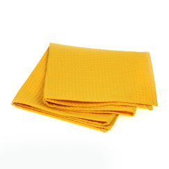 Полотенце банное Daribo SuperWaffle Yellow 50x100 см