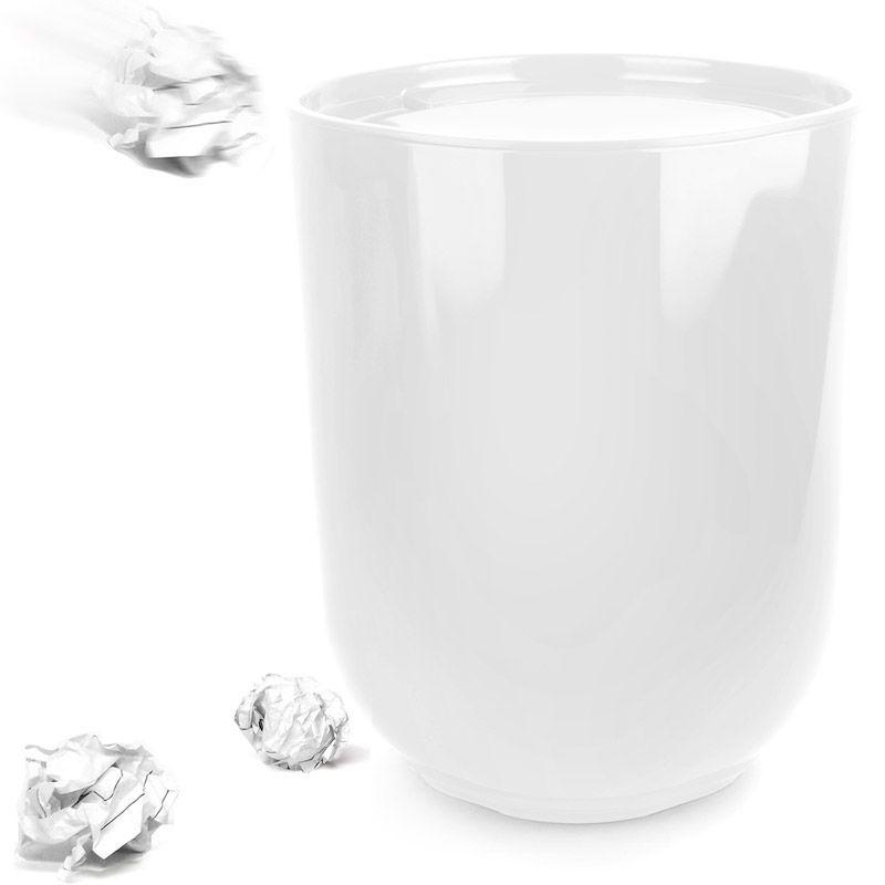Контейнер мусорный Umbra Garbino Silver 082857-560