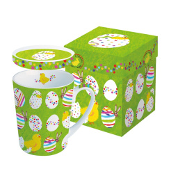 Кружка с крышкой Paperproducts Design Easter Buddies 250 мл 602768_ppd