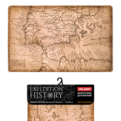 Коврик для ванны Valiant Travelling Expedition History 80*50 см EXP-H-58