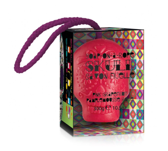 Мыло Kawaii Skull Soap On A Rope KW0157-000003