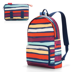 Рюкзак складной Reisenthel Mini maxi artist stripes AP3058